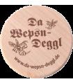 """Da Wepsn-Deggl bedruckt mit """"Da Wepsn-Deggl"""" Logo"""